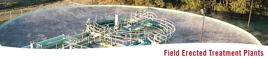 S&L Field Erected Wastewater Treatment Plant